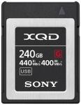 Sony XQD 240 GB (QDG240F) 440 MB/s olvasás, 400 MB/s írási seb. 240 GB