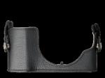 Olympus CS-45B BLK Leather Body Jacket for PEN E-PL7 - black