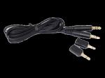 Olympus KA-333 átjátszó kábel 3,5mm jack 2,5mm adapt.