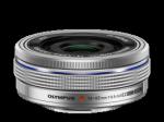 Olympus M.Zuiko Digital 14-42mm 1:3.5-5.6 EZ (elektronikus zoom) / EZ-M1442EZ ezüst