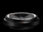 Olympus M.Zuiko Digital 9mm 1:8.0 halszem / BCL-0980 fekete Vázspaka objektív