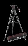 Manfrotto Nitrotech N8 video fej & karbon állvány,ikerláb, középterp. 100/75mm (MVKN8TWINMC)