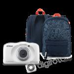 Nikon COOLPIX W150 fehér hátizsák kit