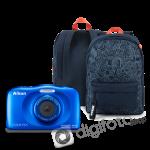 Nikon COOLPIX W150 kék hátizsák kit