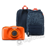 Nikon COOLPIX W150 narancs hátizsák kit