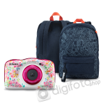 Nikon COOLPIX W150 virágos hátizsák kit