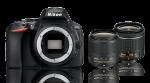 Nikon D5600 + 18-55 VR + 35mm DX