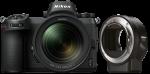 Nikon Z6 váz + 24-70mm f/4 objektív + FTZ Adapter kit