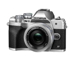 Olympus E-M10IV 1442EZ KIT ezüst/ezüst