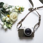 """Olympus Fényképezőgép váztok és szíj """"Olive En Vogue"""""""