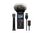 Olympus LS-P4 Podcaster Kit incl. mini Tripod, Windscreen and USB Cable