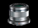 Olympus M.Zuiko Digital 45mm 1:1.8/ET-M4518 ezüst objektív