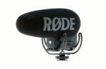 Rode Videomic Pro Plus professzionális mono videomikrofon Rycote Lyre felfüggesztéssel, saját akkumulátor