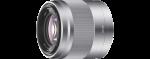 Sony SEL50F18 E50mm f/1,8 ezüst objektív