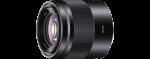 Sony SEL50F18 E50mm f/1,8 fekete objektív
