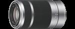 Sony SEL55210 E55-210mm f/4,5-6,3 ezüst objektív