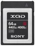 Sony XQD 64 GB (QDG64F) 440 MB/s olvasás, 400 MB/s írási seb. 64 GB