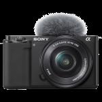 Sony ZV-E10 váz + 16-50mm objektív (ZVE10LBDI)