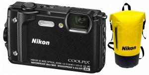 Nikon COOLPIX W300 fekete Holiday kit