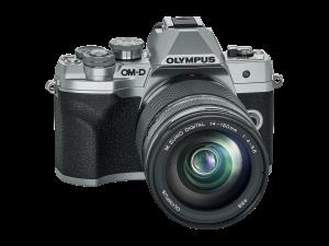 Olympus E-M10IV 14150 Kit ezüst/fekete