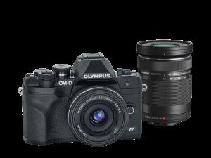 Olympus E-M10IV 1442EZ DZ KIT fekete/fekete/fekete