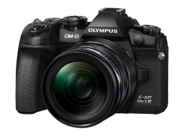 Olympus E-M1III 12-40 KIT fekete/fekete