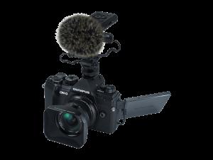 Olympus E-M5III 12mm F2.0 Vlogger/Movie Kit fekete/fekete