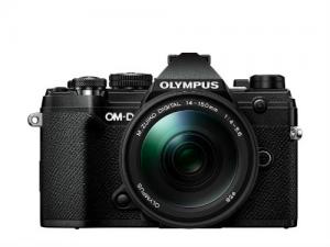 Olympus E-M5III 14-150II Kit fekete, E-M5 Mark III ezüst + EZ-M1415-2 fekete